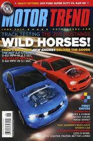5 0 mustang magazine covered ford mustang motor trend covers from 1964 present motor