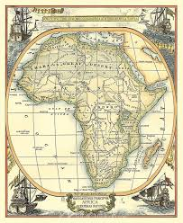 nautical map map of africa