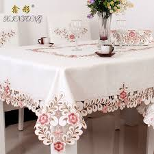 ty809 european garden luxury tablecloth embroidered dining table