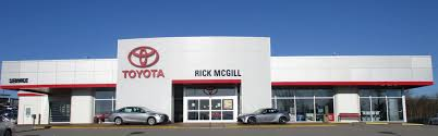 toyota car dealers toyota dealer used cars alcoa tn rick mcgill u0027s airport toyota