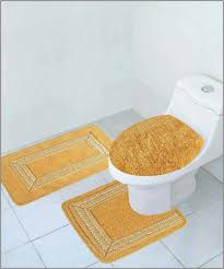 Gold Bathroom Rug Sets Gold Bath Rugs 3 Gold Bathroom Rug Sets Cabin Sickchickchic