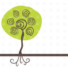 tree with roots clipart free best tree with roots