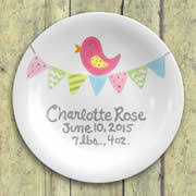 pewter birth plates personalized personalized baby baptism plates and tiles personalized baby