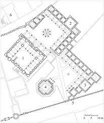 floor plan of a mosque zal mahmut paşa külliyesi floor plan of complex showing 1