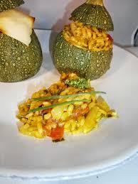 comment cuisiner des courgettes rondes délices d une novice courgettes rondes farcies au riz tomate et
