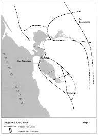 San Francisco Terminal Map by San Francisco General Plan Transportation