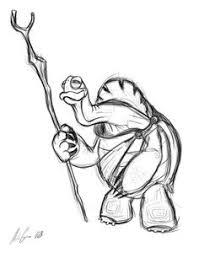 risultati immagini per kung fu panda characters drawing draw