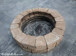build a propane fire pit 57 inspiring diy outdoor fire pit ideas to make s u0027mores with your