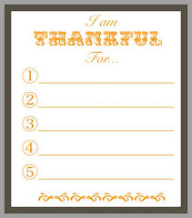 printable thankful for thanksgiving day blissful
