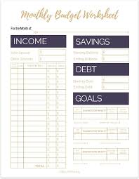 25 unique budgeting worksheets ideas on pinterest budget