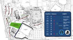 Oak Park Illinois Map by Central Park Professional Disc Golf Association