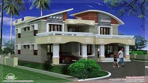 4 bedroom 2 story house floor plans in kerala youtube