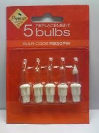 12 volt christmas light bulbs rb20pw premier spare christmas light bulbs pack of 5 lus 11 12