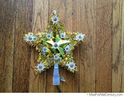 mad for mid century vintage light up star tree topper