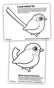 dark bird coloring pages free printable flower difficult