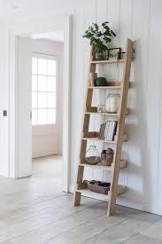 oak ladder shelf oak ladder shelf shelves and living rooms