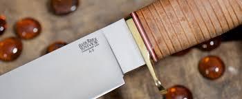 Bark River Kitchen Knives Bark River Knives 1909 Michigan Bowie