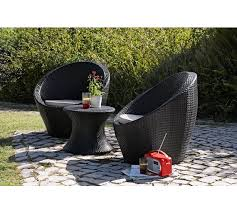 Buy HOME Rattan Effect  Seater Duck Egg Patio Set With Cushions - Rattan furniture set