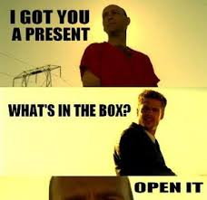Whats In The Box Meme - seven what s in the box by serkan meme center