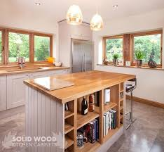 oak kitchen island hardwood kitchen island an oak kitchen island with oak end panels