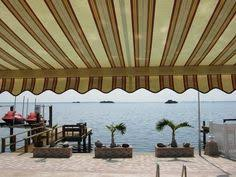 Powered Awnings Retractable Patio Deck And Porch Awnings Bring Much Valued Shade