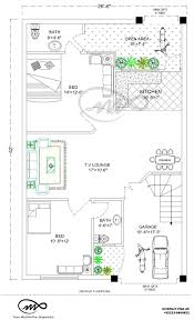 10 Marla Plot Home Design 27x36 1000 Square Feet 3 5 Marla House Plan And Map