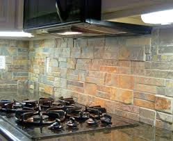 Simple Nice Stacked Stone Backsplash Tile Best  Stacked Stone - Stone backsplash tiles