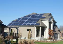 solar panels on houses solar power energy net zero homes canada installers of solar pv
