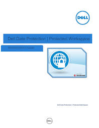dell software data protection protected workspace pdf user u0027s