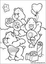 241 care bears coloring sheets images care