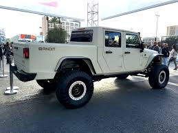custom jeep white the bandit is the 700 hp hemi powered jeep pickup of our dreams