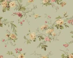 country cottage wallpaper cottage wallpaper etsy