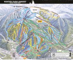 Steamboat Trail Map A Review Of Winter Park Colorado Ski Bums