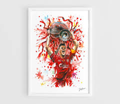 Liverpool Wall Stickers Steven Gerrard Liverpool Fc A3 Wall Art Print Poster Of