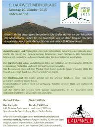Merkur Baden Baden Der 1 Laufwelt Merkurlauf Laufwelt Rastatt Wintersdorf