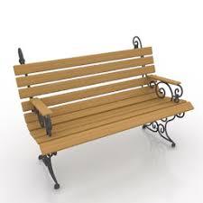 3d Bench Bench 3d Model Free 3d Models