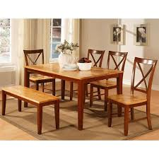 two tone cherry dining room set world imports furniturepick