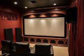 movie home theater klipsch la scala trio home theater room build klipsch