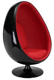 siege oeuf fauteuil oeuf noir simili inspiré aeero lestendances fr