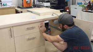 How To Build A Cabinet Box by How To Build A Base Cabinet With Drawers Fixthisbuildthat