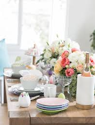 Easter Restaurant Decorations by Easter Table Decorations Crate And Barrel Blog