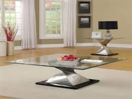 Glass Modern Coffee Table Sets Glass Coffee Table Matt And Jentry Home Design