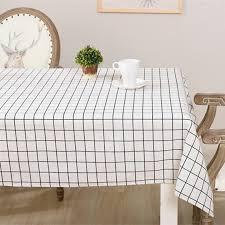 aliexpress buy geometric grid pattern cotton linen