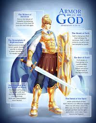 an illustration of the whole armor of god taken from the epistle