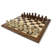 amazon com we games medieval chess set polystone pieces with