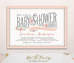 baby shower brunch invitations invitation for baby shower popular baby shower brunch invitations