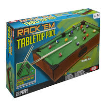 tabletop pool table toys r us ideal rack em tabletop pool game toys r us