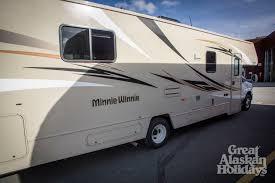 Minnie Winnie Floor Plans 2016 Winnebago Minnie Winnie 31k U2013 Great Alaskan Holidays Rv