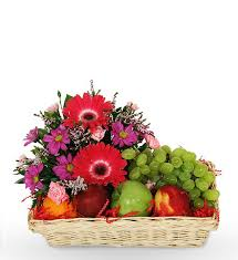 fruit and flowers fruit basket w flowers delivery to dhaka dhaka gifts