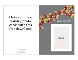 free download printable holiday photo card u2013 oh my handmade